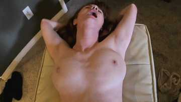 Teen bitch Abbey Rain takes a dick in a POV scene