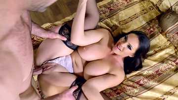 Lovely nympho Alison Tyler getting her plump twat drilled by her lover in the hotel