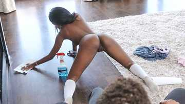 Daisy Cooper: Squirting Naughty Babysitter Gets Pounded