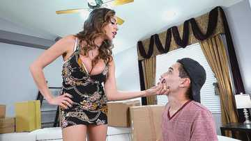 Ariella Ferrera's Stepson Works With Sex