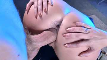 Tattooed sex diva Monique Alexander bends over and gets her cunt ploughed by thick Danny